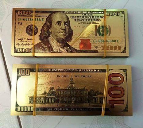 Tiền lì xì 100 usd