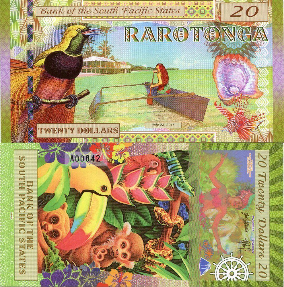 Tiền South Pacific Hình Con Khỉ